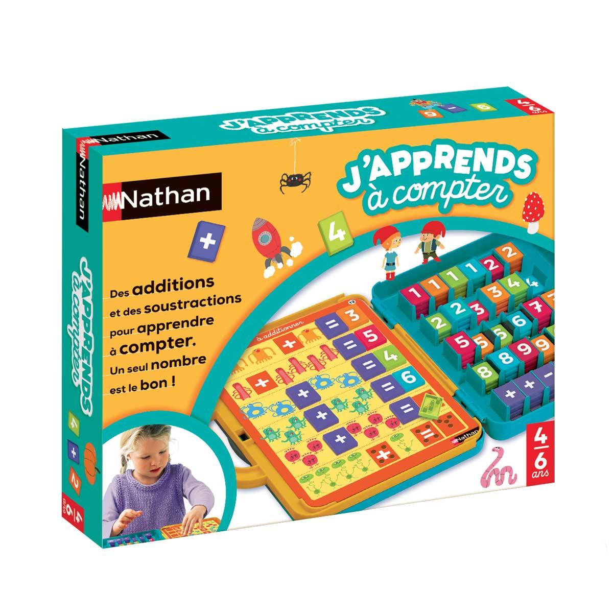 Jeu Éducatif J'apprends À Compter avec Jeux Educatif 5 6 Ans