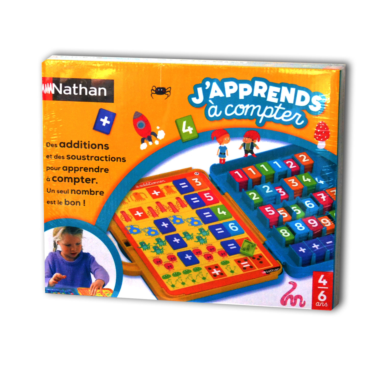 Jeu Éducatif J & amp;  # 039;  approuve À Compter De 4 Ans À 8 Ans dedans Jeux Educatif 4 Ans