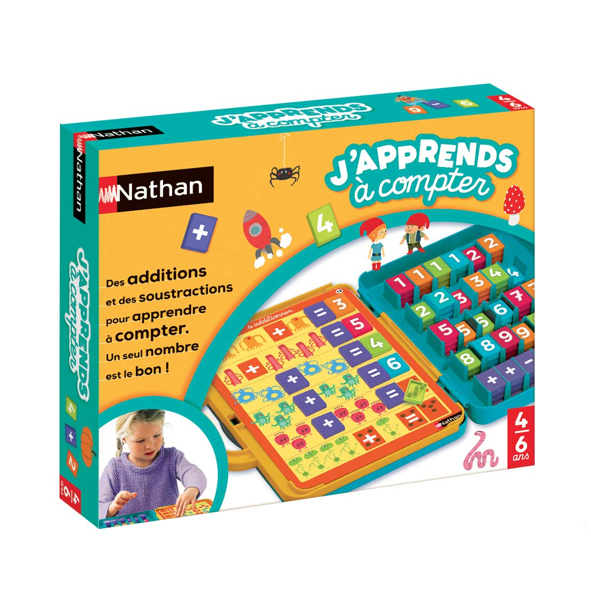 Jeu Éducatif J'apprends À Compter encequiconcerne Jeux Educatif 7 Ans