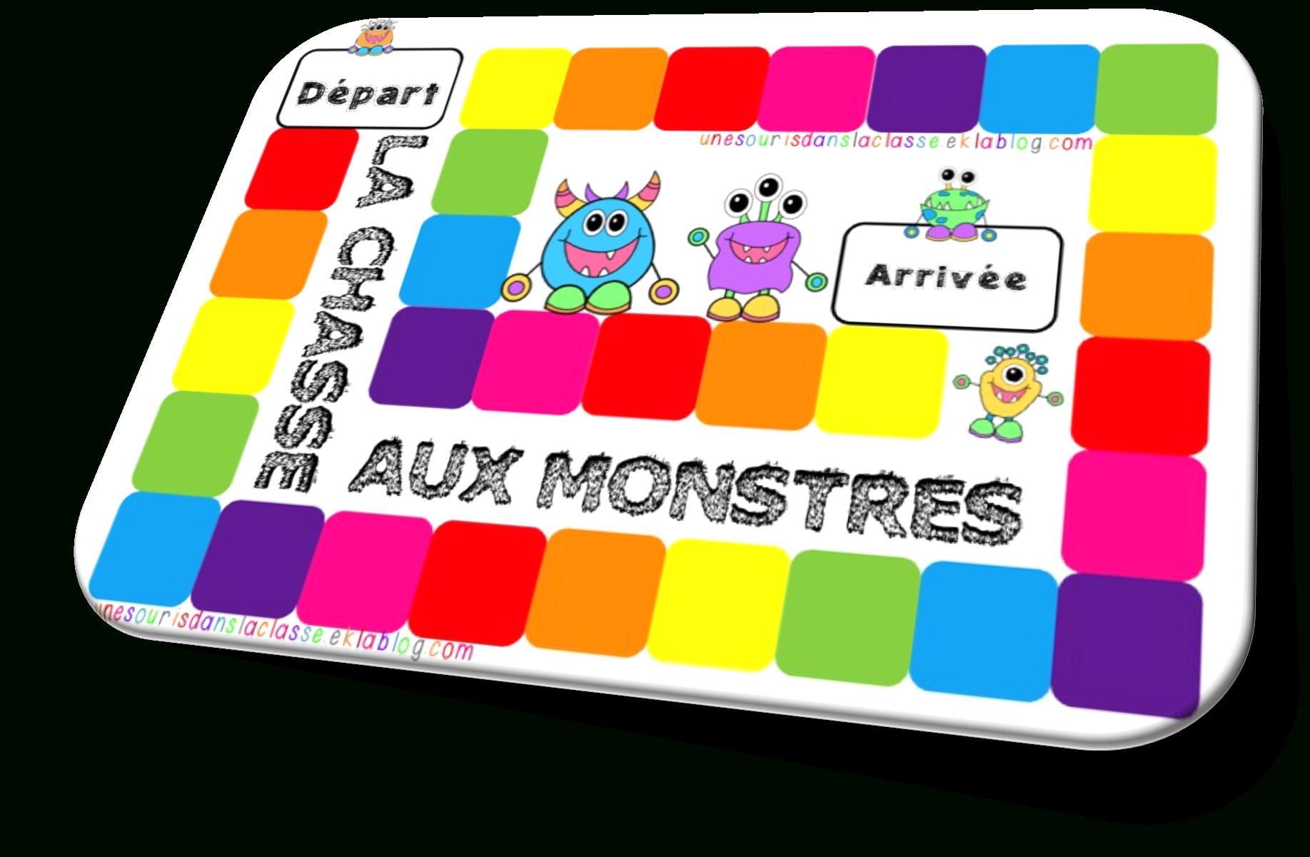 Jeu Éducatif: La Chasse Aux Monstres - Une Souris Dans La Classe destiné Les Jeux Educatif