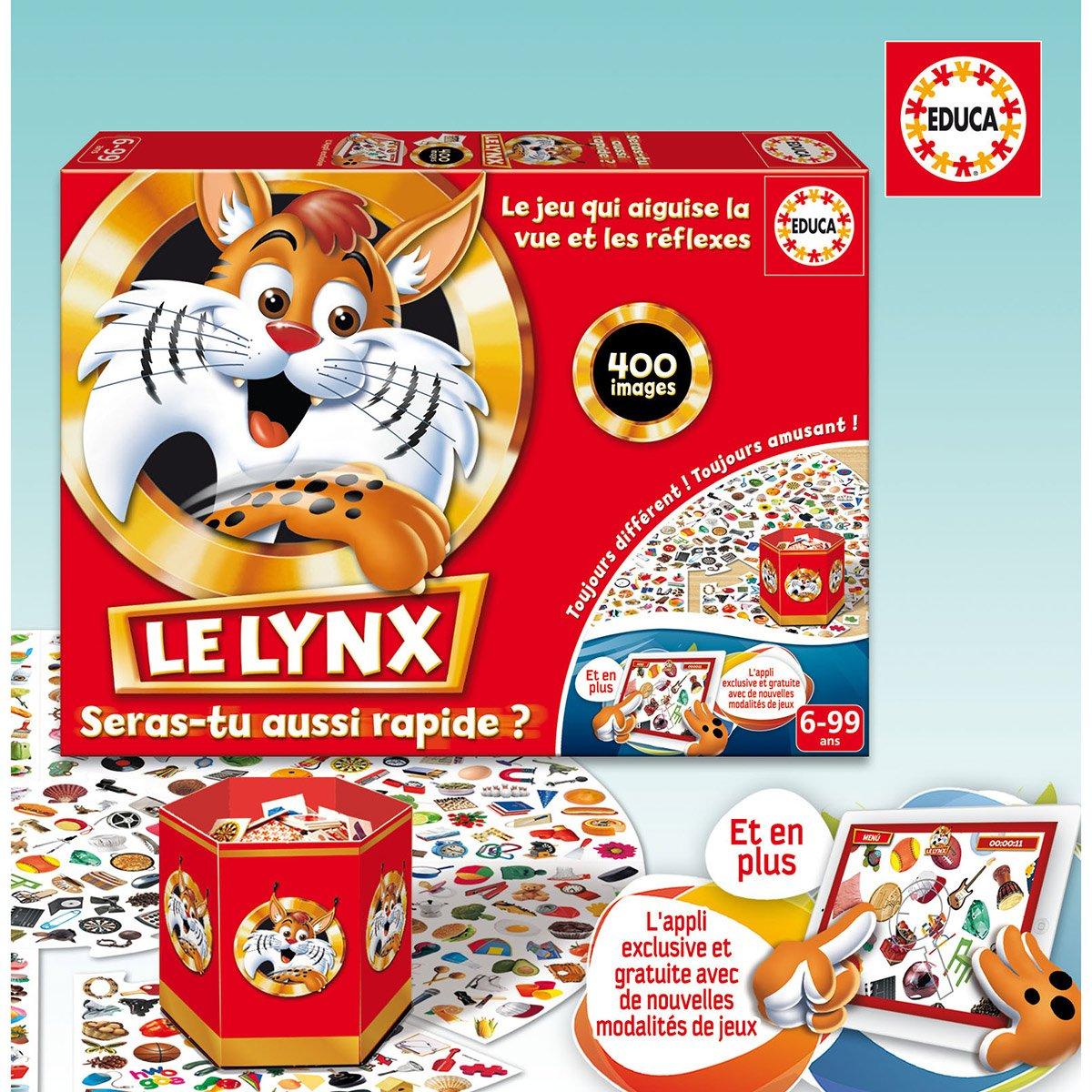 Jeu Éducatif - Le Lynx Avec Application - Jeux De Société Et destiné Les Jeux Educatif