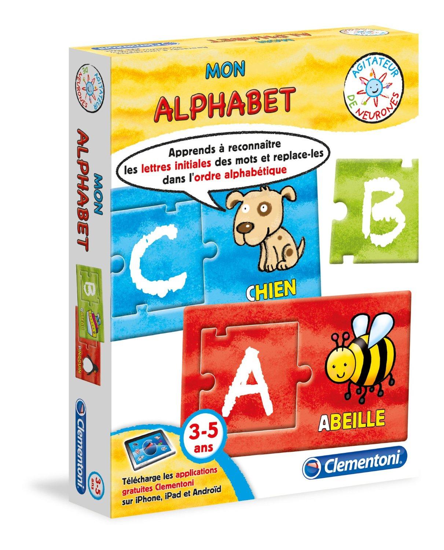 Jeu Educatif - Mon Alphabet - 3 À 5 Ans - Saghrounet intérieur Jeux Educatif 3 Ans