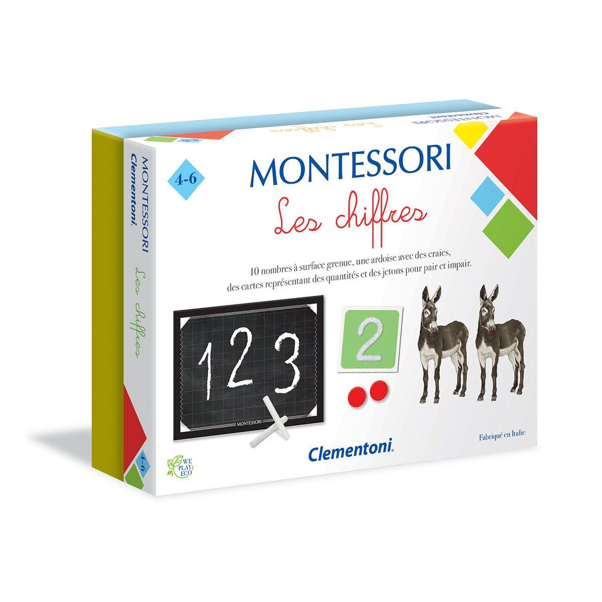 Jeu Éducatif Montessori Les Chiffres - Apprentissages Des à Jeux Educatif En Ligne Gratuit
