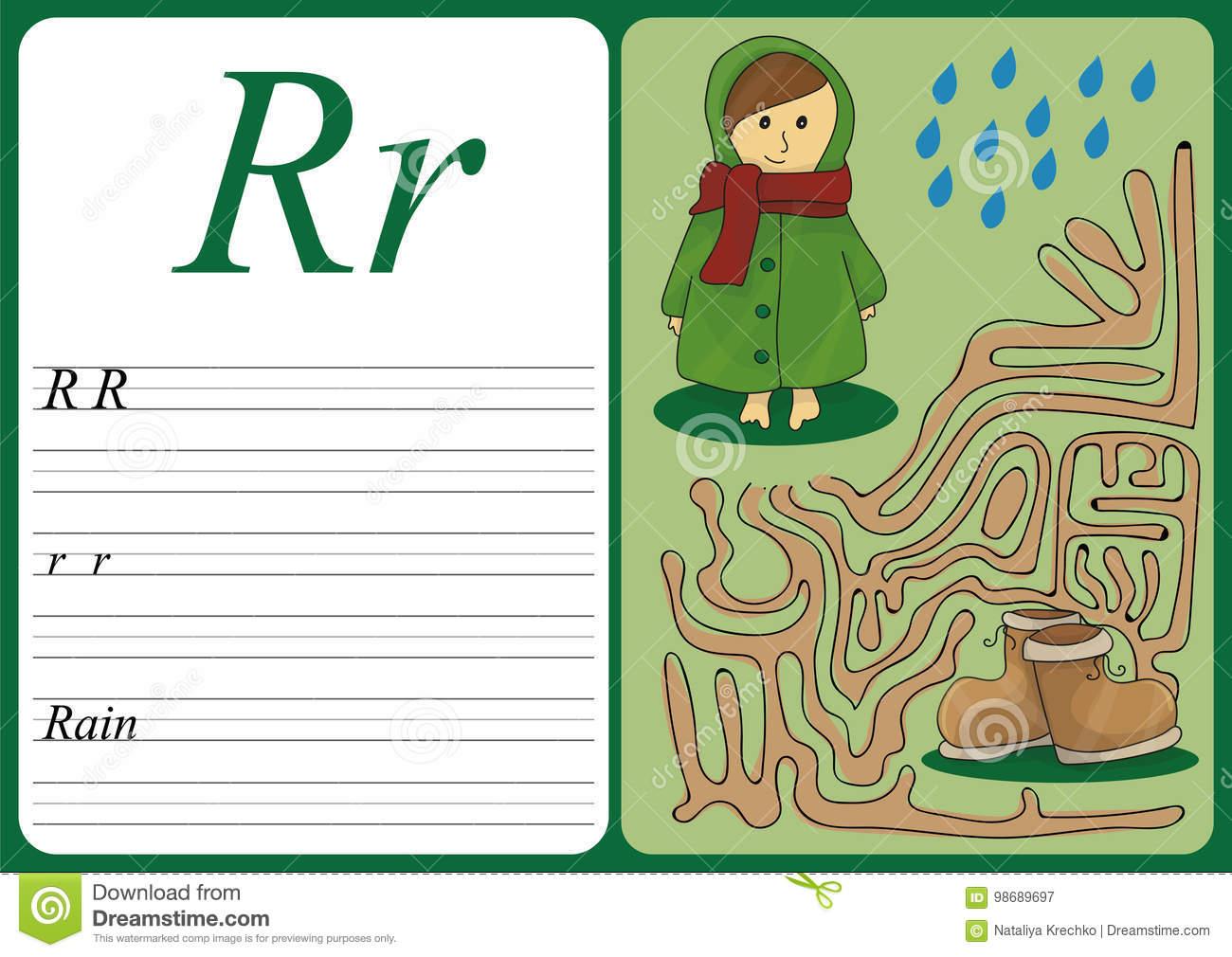 Jeu Éducatif Pour Apprendre L'écriture Avec Le Niveau Facile à Jeux Pour Apprendre L Alphabet