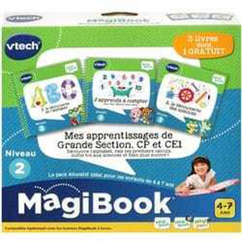 Jeu Éducatif Vtech Magibook - Mes Apprentissages De Grande serapportantà Jeux Educatif Gs