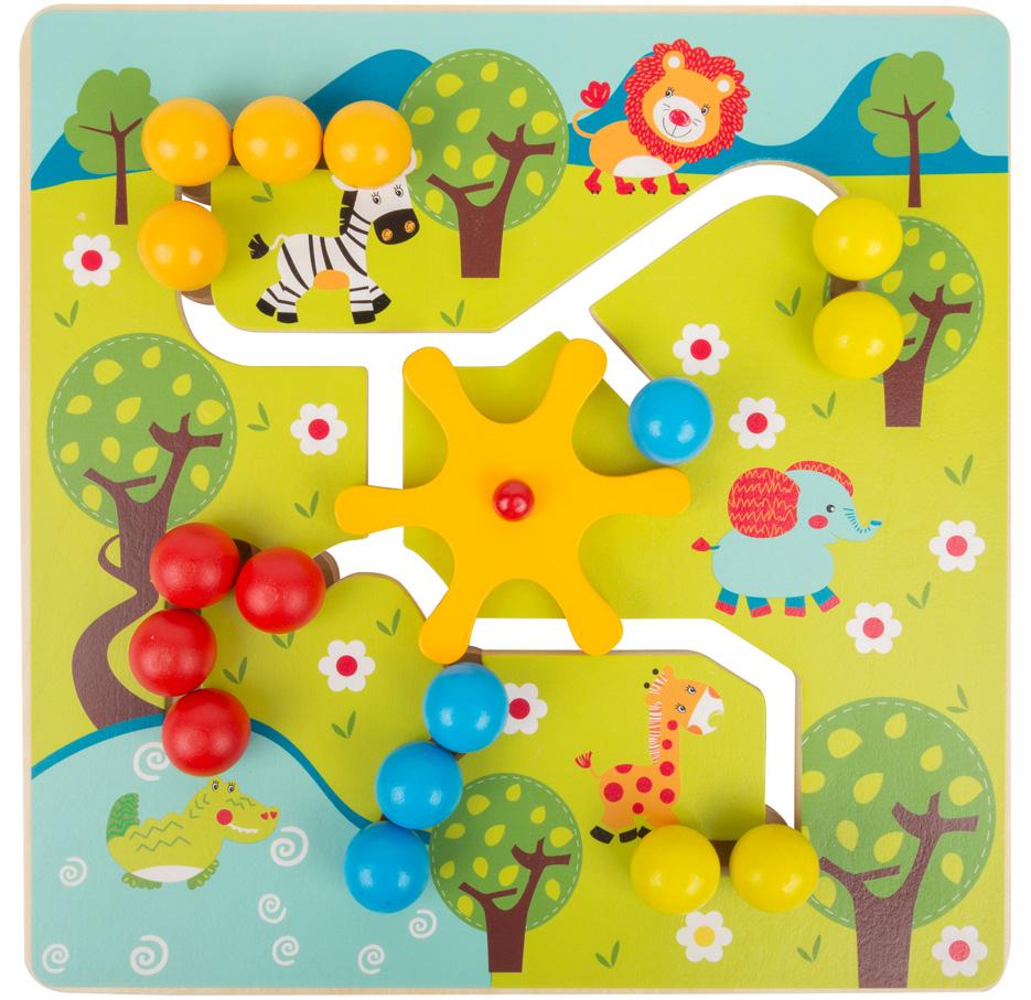 Jeu En Bois - Puzzle Coulissant 'savane' - Legler 10728 dedans Jeux De Savane