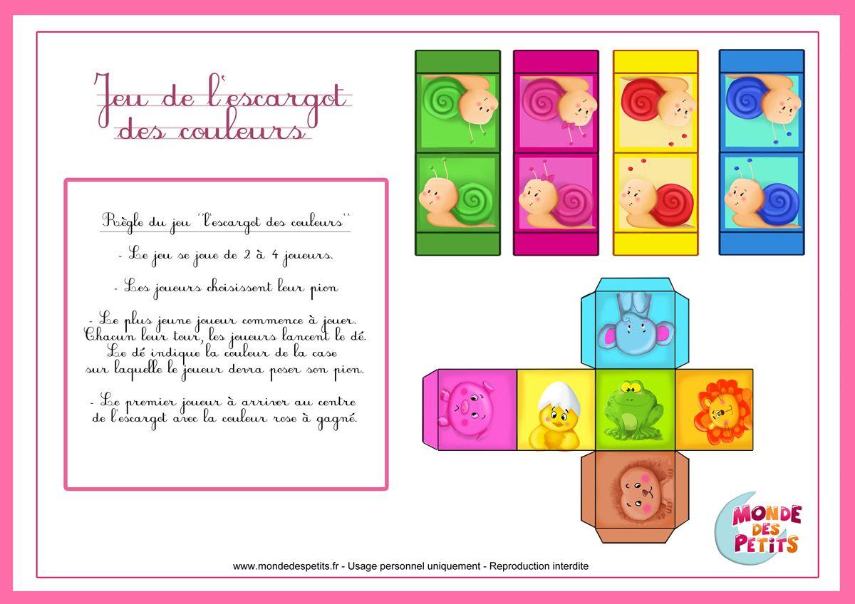 Jeu-Enfant-Regle (Jpeg Obrázek, 1200 × 848 Bodů à Jeux Gratuit Escargot