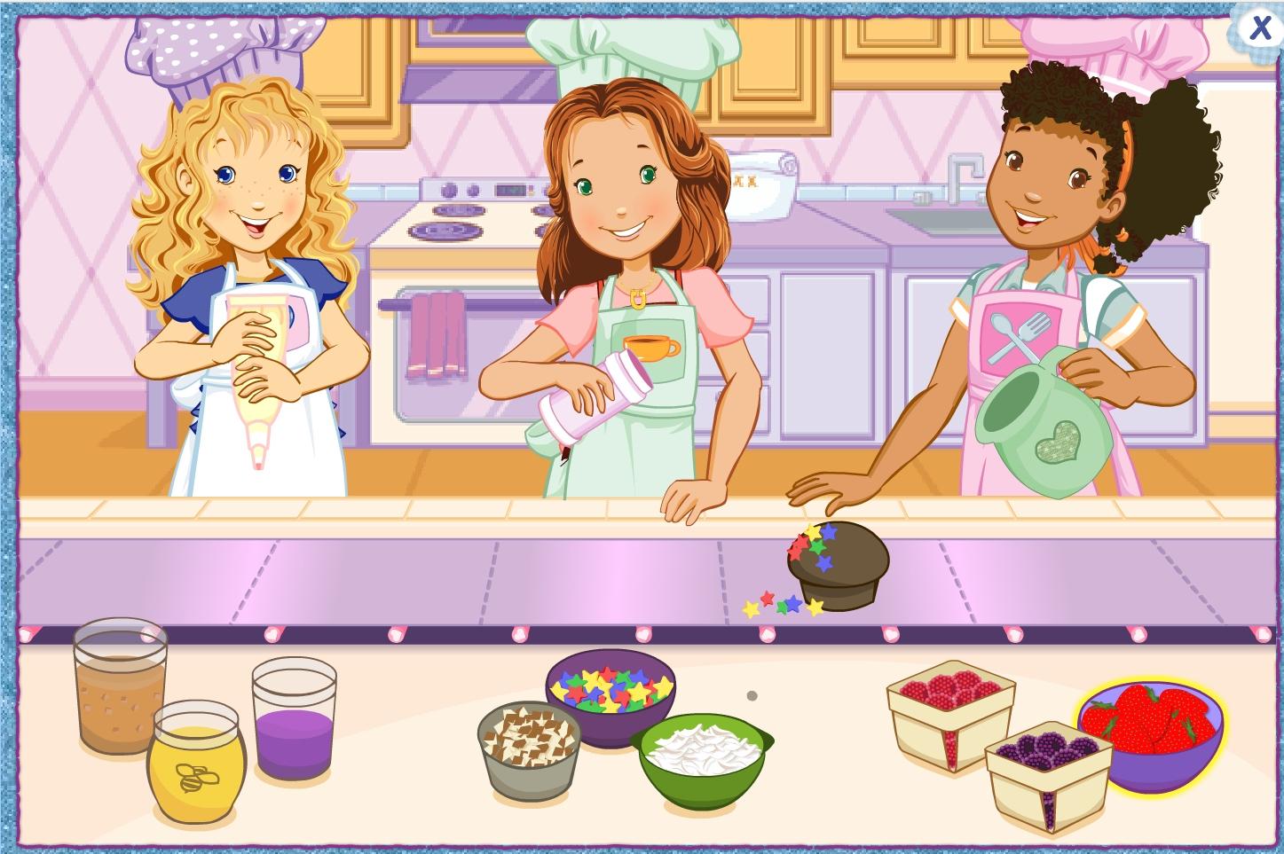 Jeu Fille Cuisine Des Muffins En Ligne Gratuit avec Jeux En Ligne Gratuit Pour Fille
