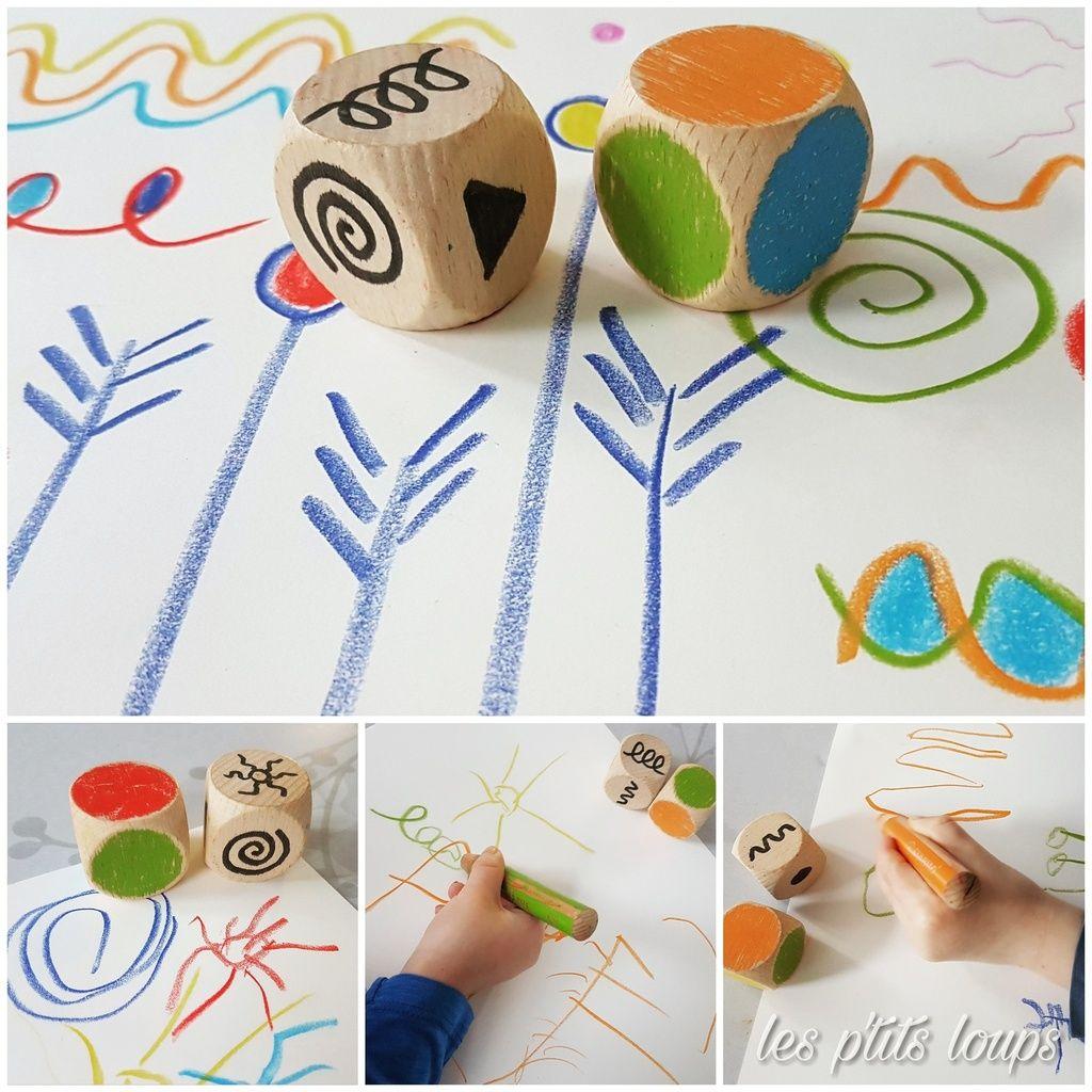 Jeu Graphisme   Art Pour Les Enfants, Art De La Maternelle dedans Petit Jeu Maternelle