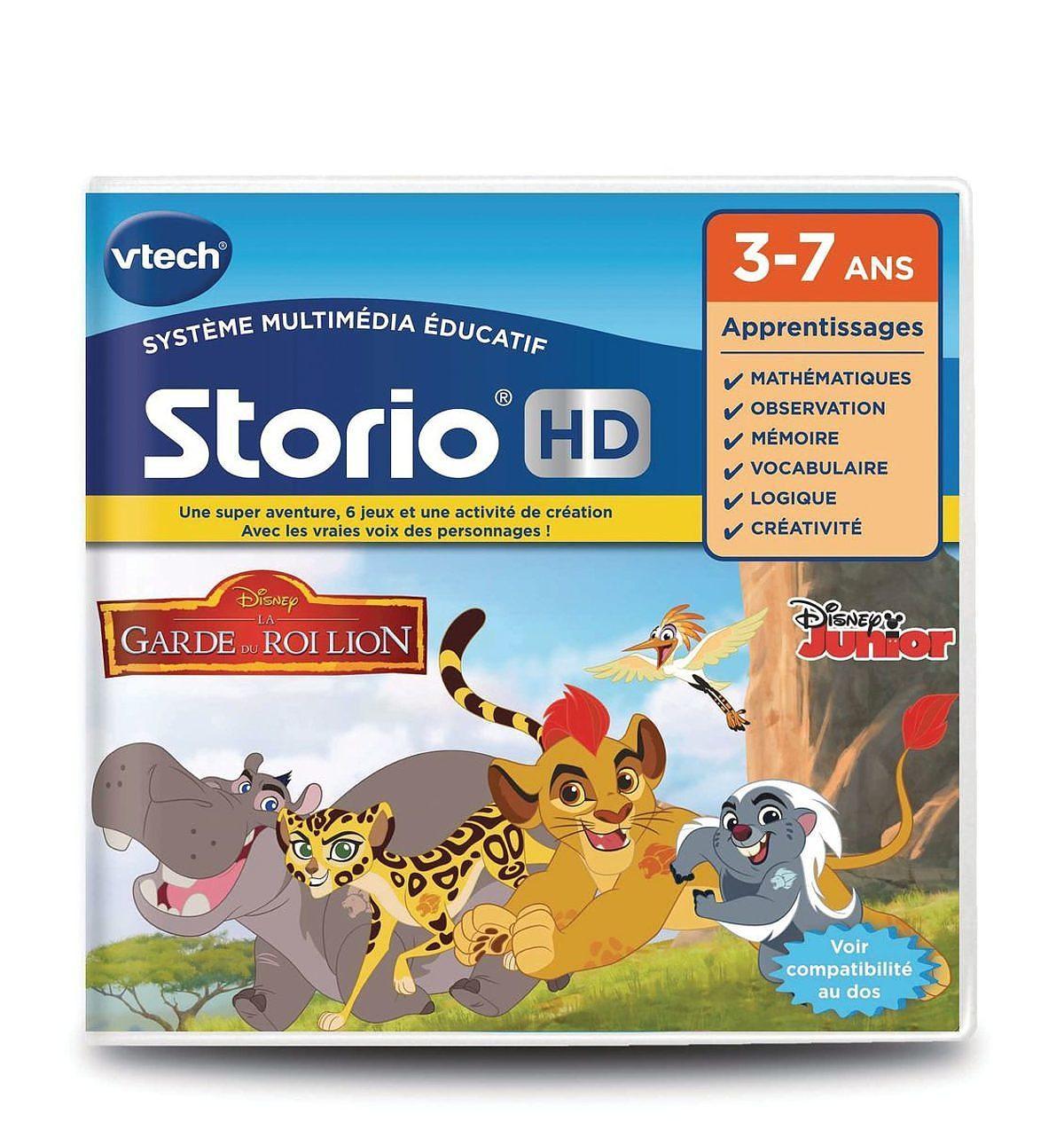 Jeu Hd Storio - La Garde Du Roi Lion destiné Jeux Educatif 7 Ans