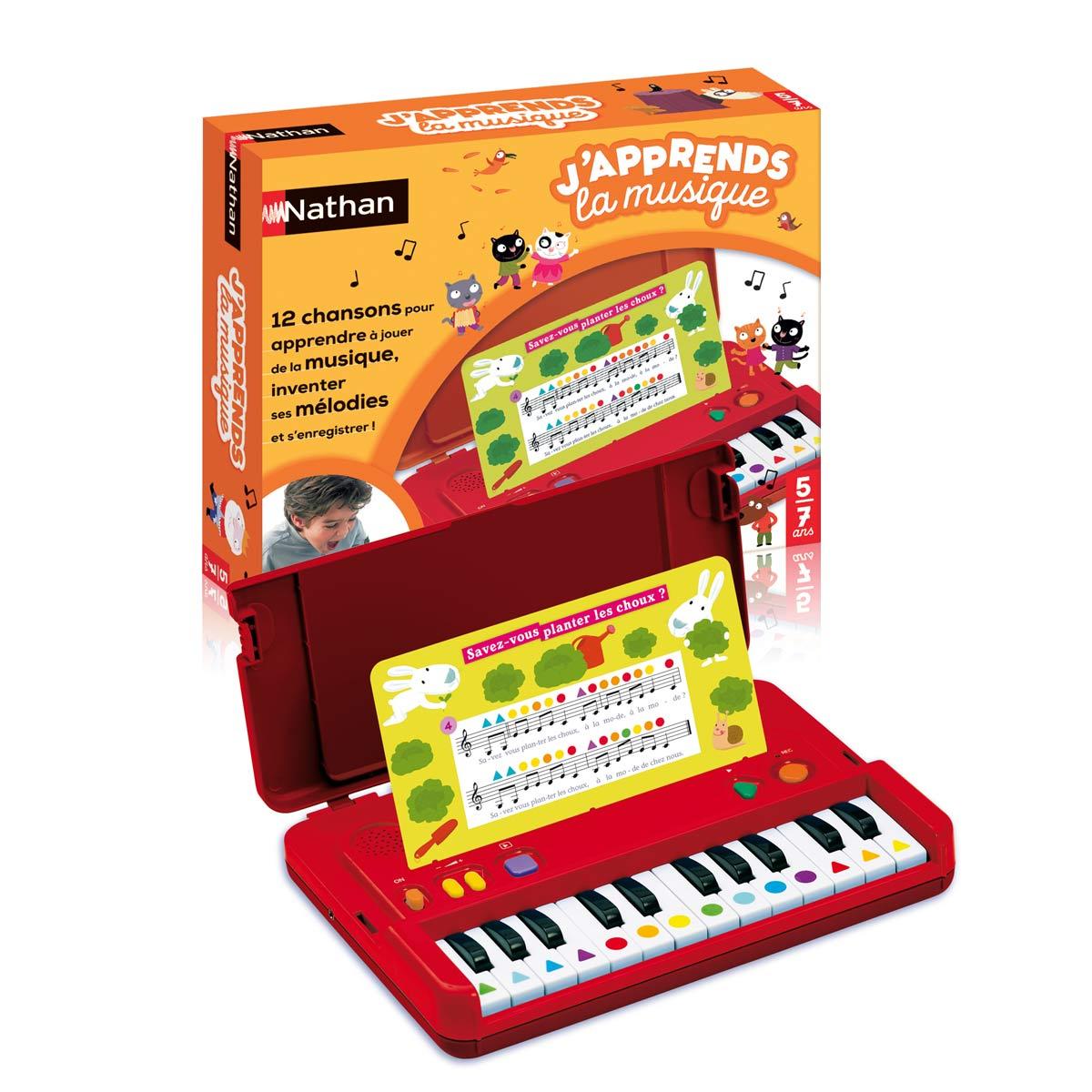 Jeu Interactif J'apprends La Musique dedans Jeux Pour Enfant De 7 Ans