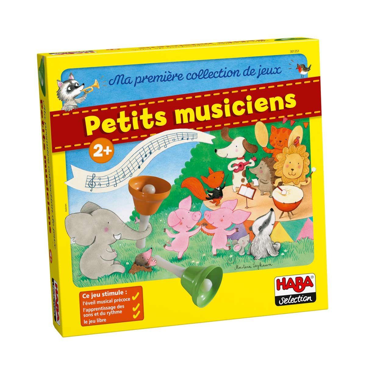 Jeu Les Petits Musiciens Haba | Jeux De Musique, Jeux D intérieur Jeux Pour Les Petit De 5 Ans