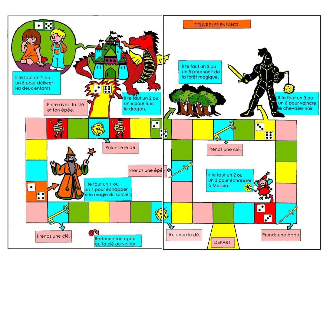 Jeu Mathématique, Jeu De Stratégie: Délivre Les Enfants intérieur Jeux Enfant Maternelle