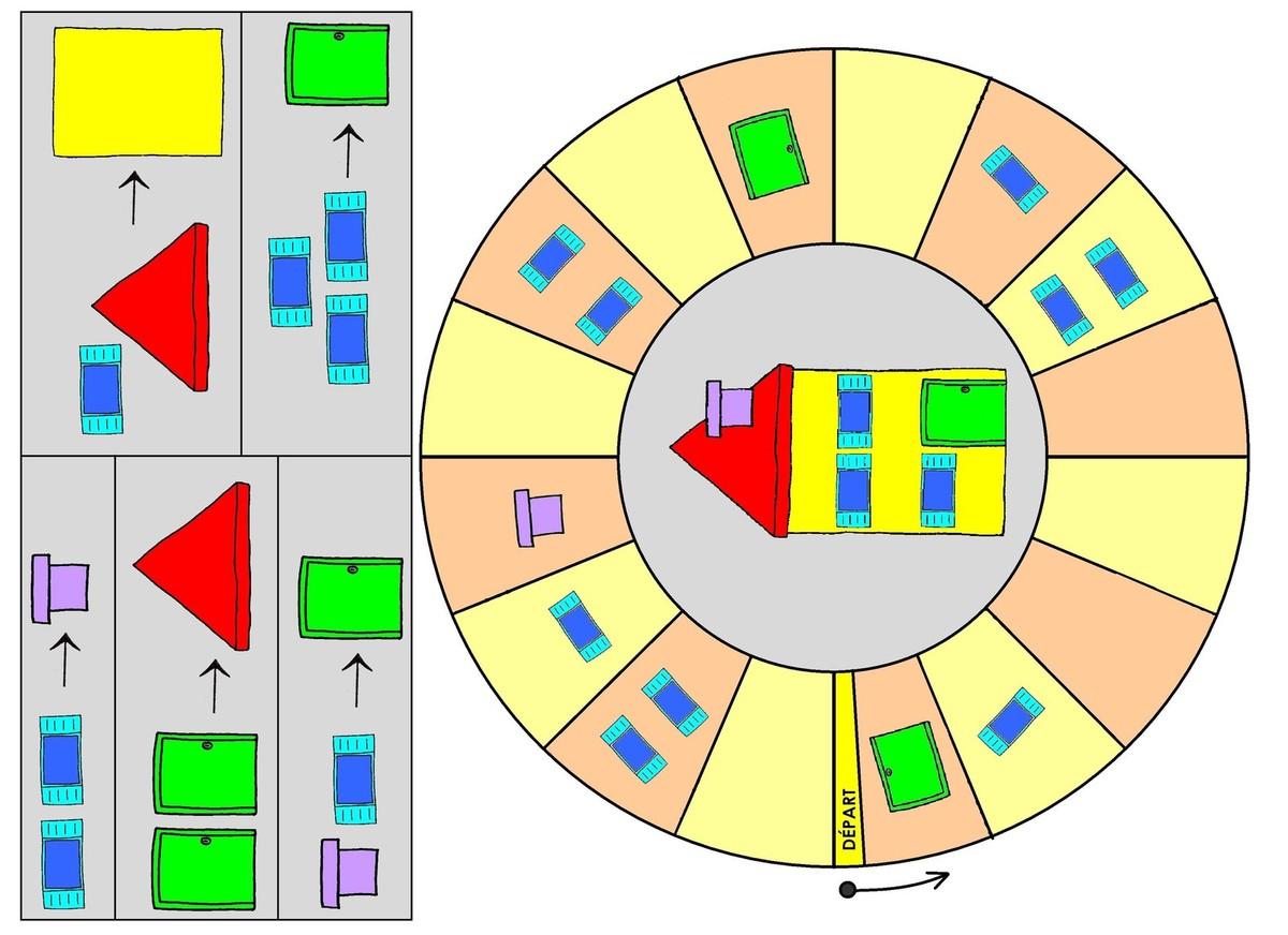 Jeu Mathématique, Jeu D'échanges: Construis Ta Maison N°2 avec Jeux De Matematique