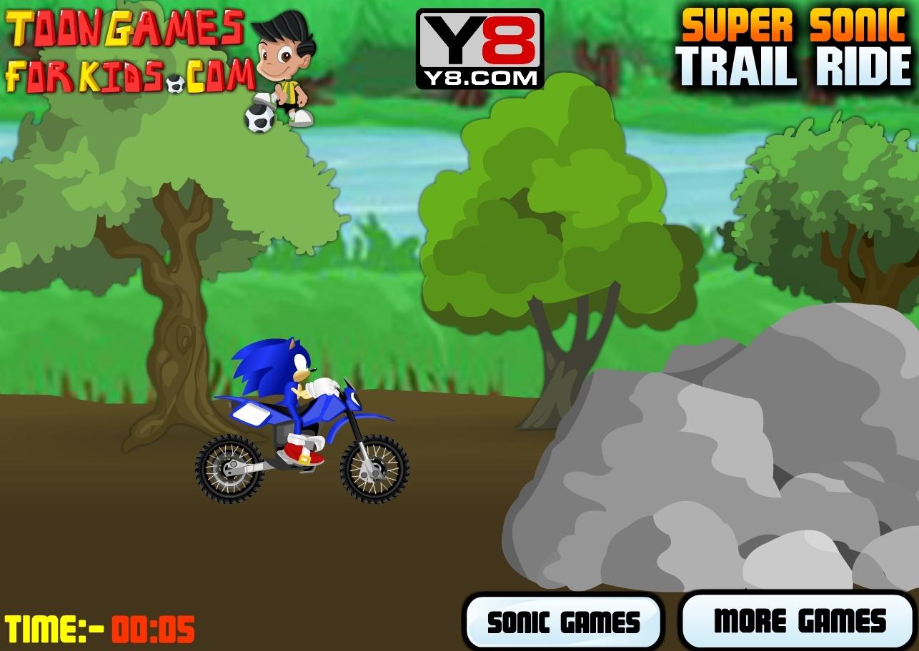 Jeu Moto Sonic Gratuit En Ligne tout Jeux Moto En Ligne Gratuit