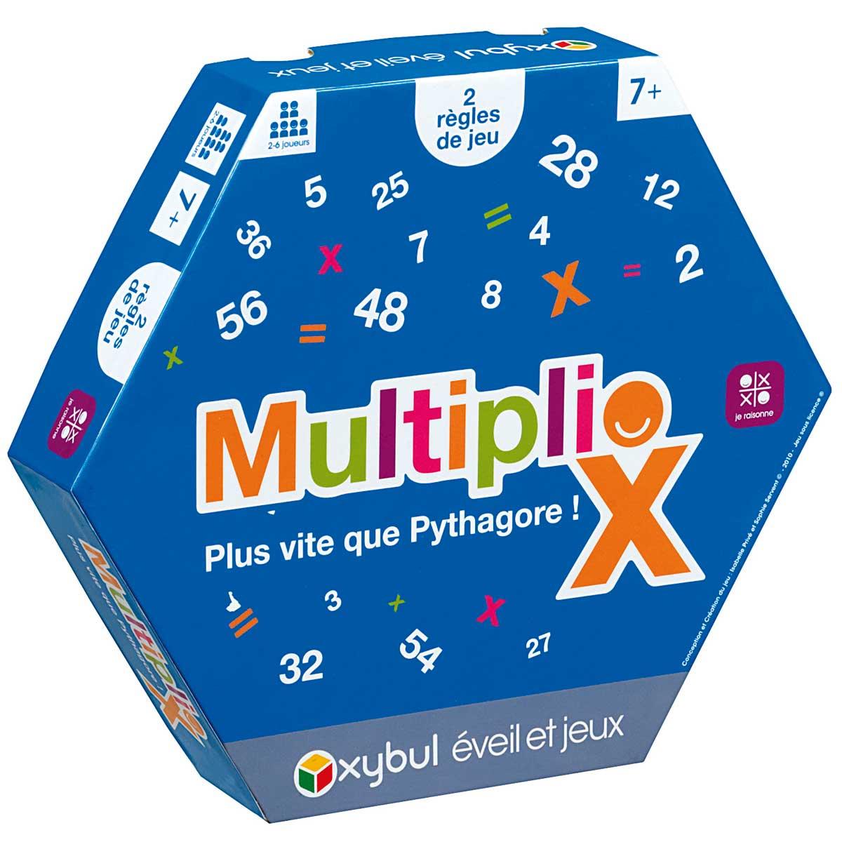 Jeu Multiplio intérieur Jeux Educatif 10 Ans