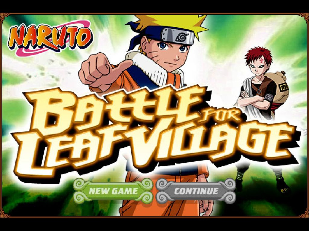 Jeu Naruto Battle For Leaf Village / Jeuxgratuits dedans Jeux Gratuit De Village