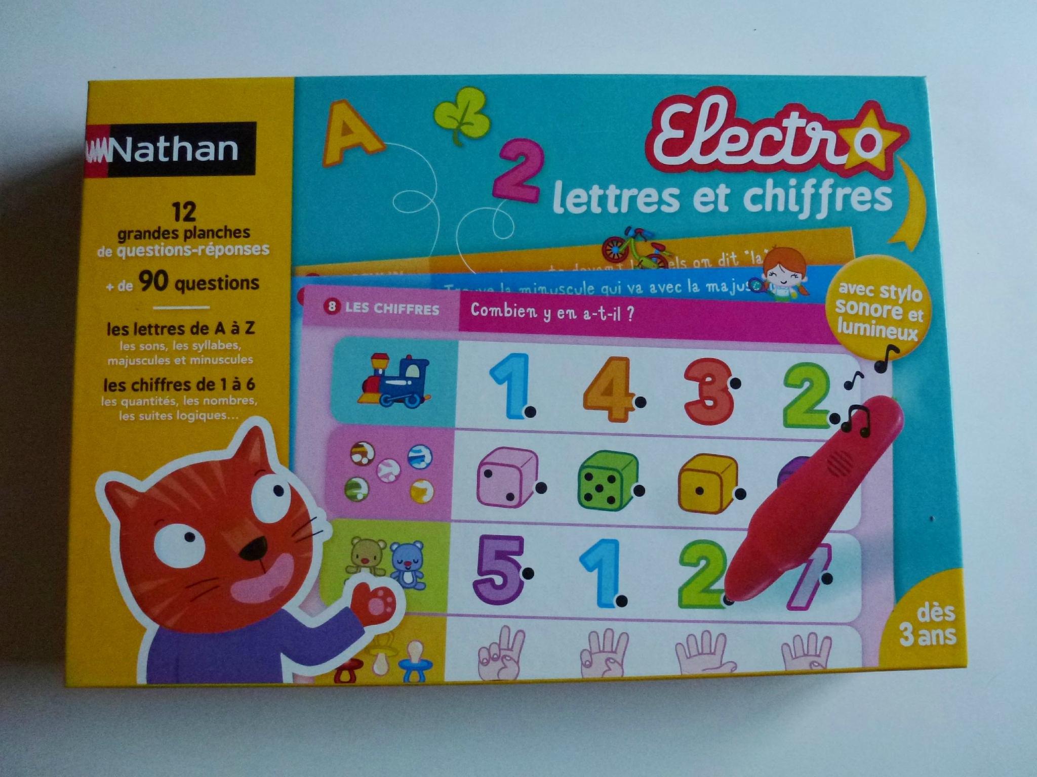 Jeu Nathan Electro - Le Cri Du Placard à Jeu Cri Des Animaux