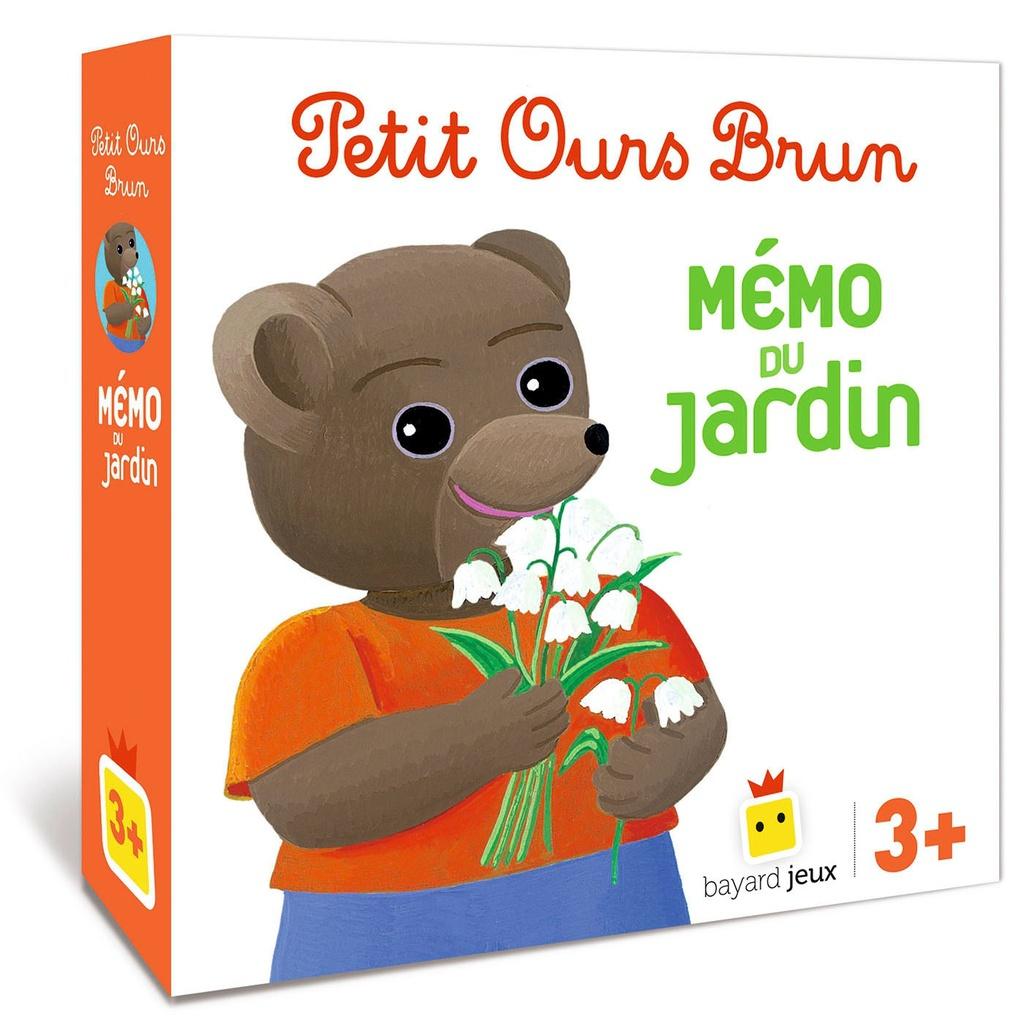 Jeu Petit Ours Brun - Mémo Du Jardin - Bayard Editions pour Jeux Gratuit 3 Ans