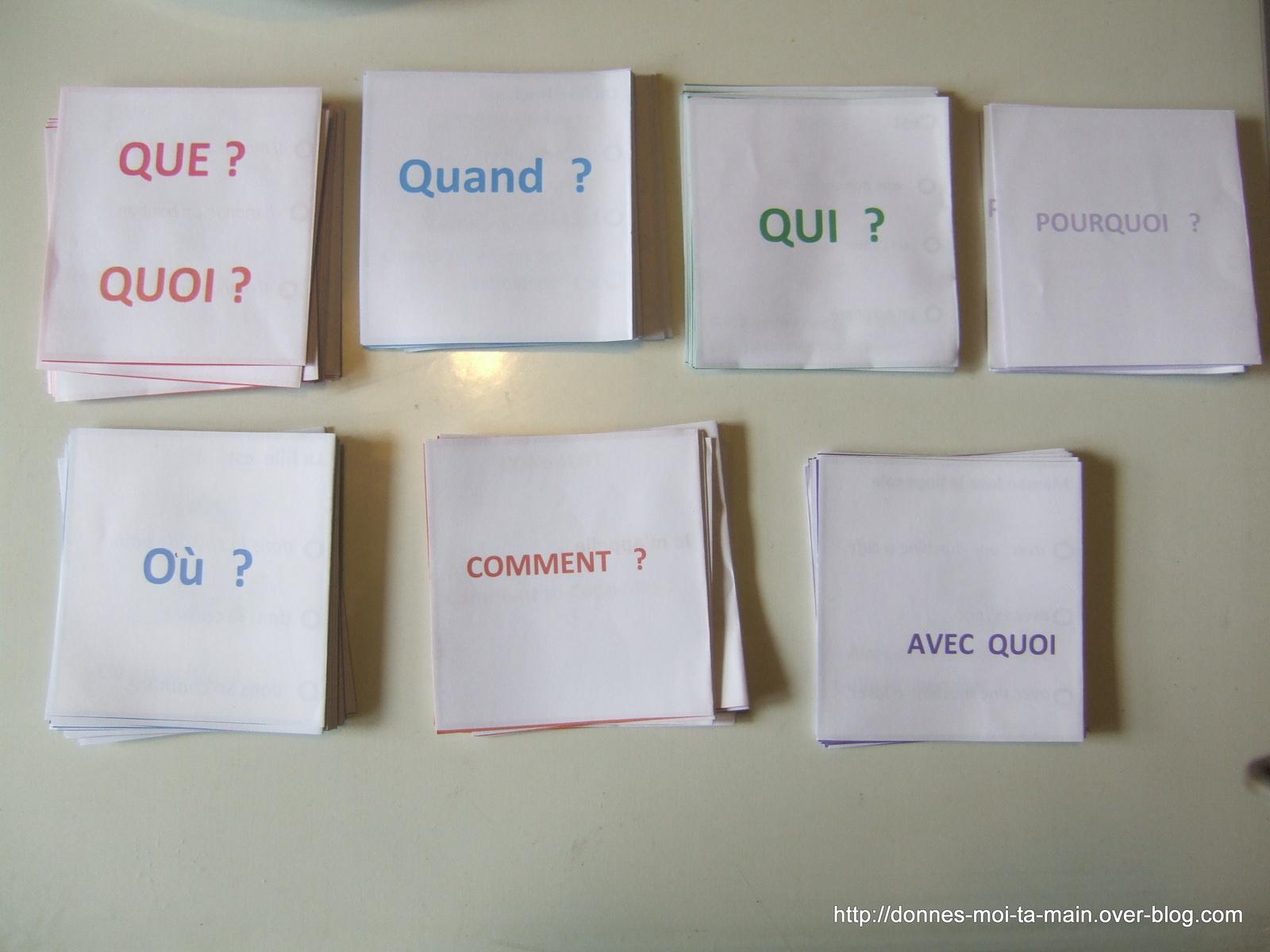 Jeu Pour Apprendre À Répondre À Des Questions Et Comprendre tout Jeux Avec Des Questions