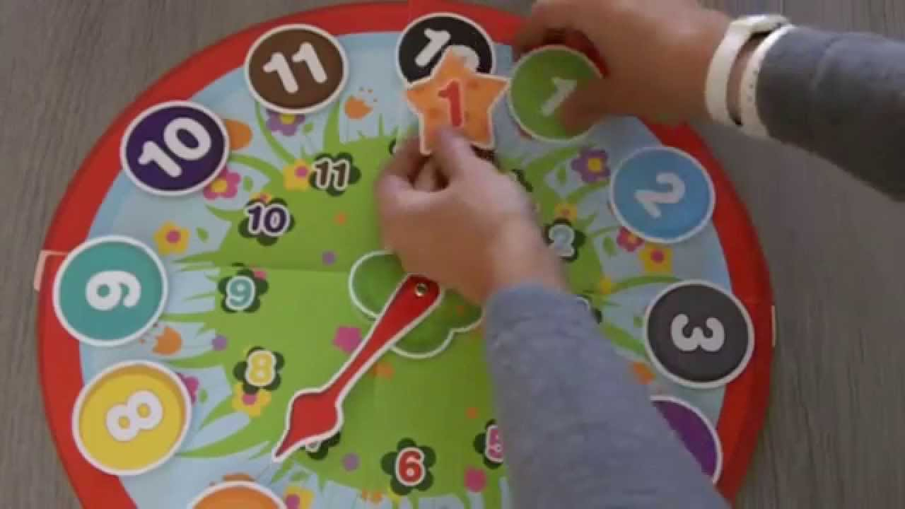 Jeu Pour Apprendre L'heure À Un Enfant Dès 3 Ans intérieur Jeux Pour Bebe De 3 Ans Gratuit