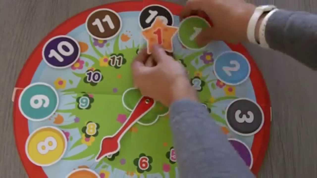 Jeu Pour Apprendre L'heure À Un Enfant Dès 3 Ans pour Jeux Bebe 3 Ans