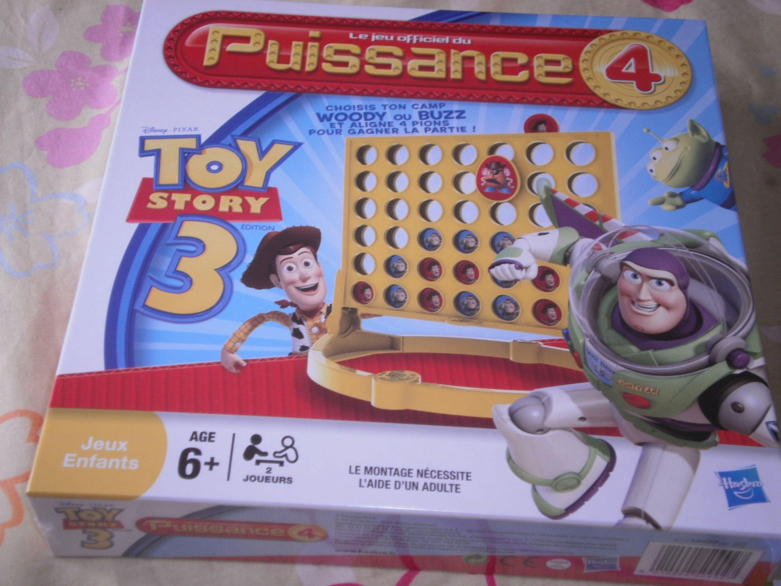 """Jeu """" Puissance 4 Toy Story 3 """" avec Jeux Gratuit Puissance 4"""