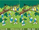 Jeu Schtroumpf Smurfs Spot The Difference / Jeuxgratuits dedans Jeux Des Differences Gratuit