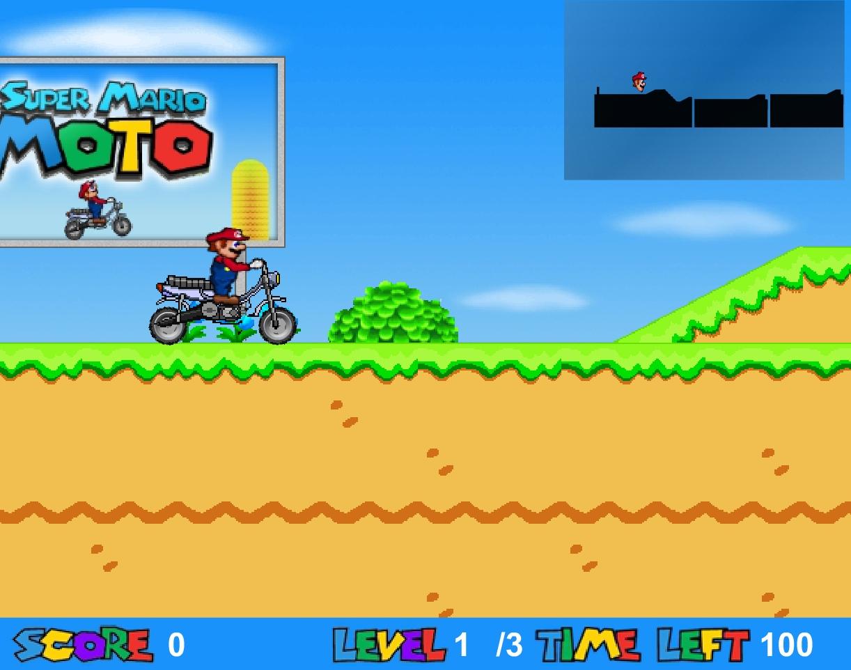 Jeu Super Mario Moto En Ligne Gratuit destiné Jeux Moto En Ligne Gratuit