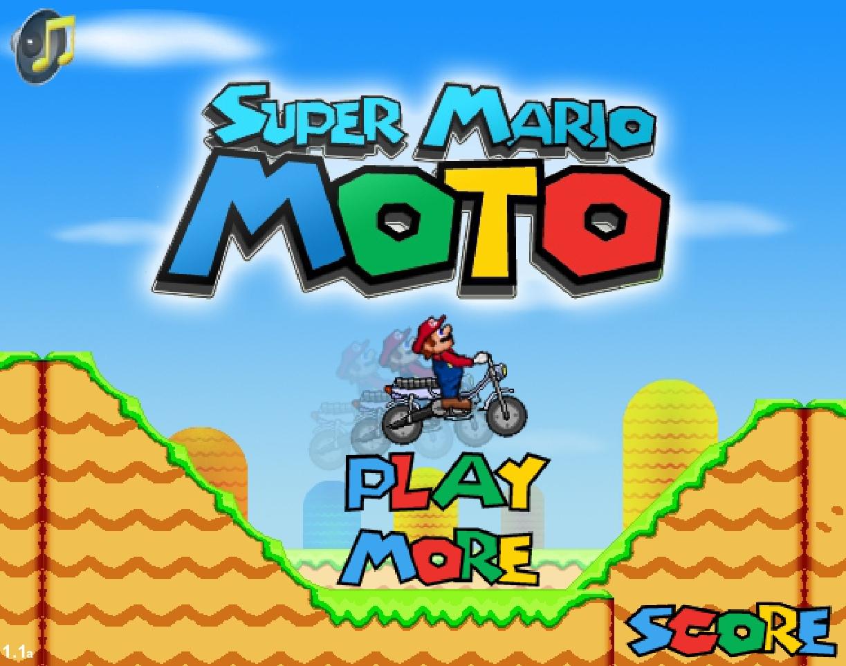Jeu Super Mario Moto En Ligne Gratuit tout Jeux Moto En Ligne Gratuit