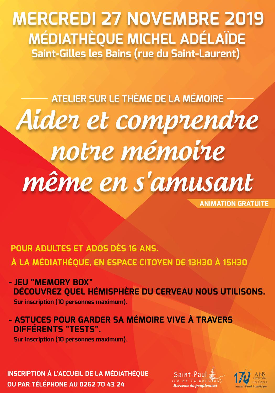 Jeu Test Ma Mémoire ! - Ville De Saint-Paul intérieur Jeux Memoire Gratuit