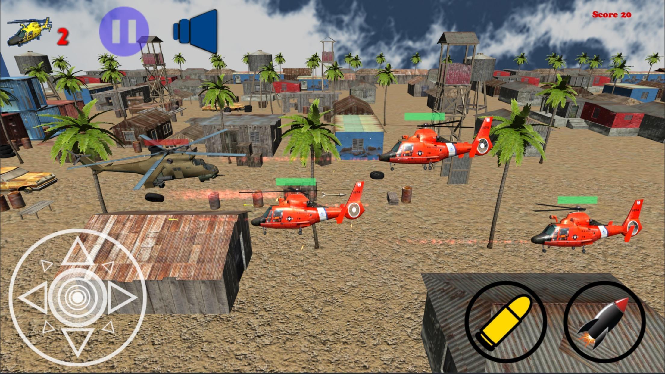 Jeu Tir Hélicoptère Gratuit Pour Android - Téléchargez L'apk intérieur Jeux Gratuit De Village