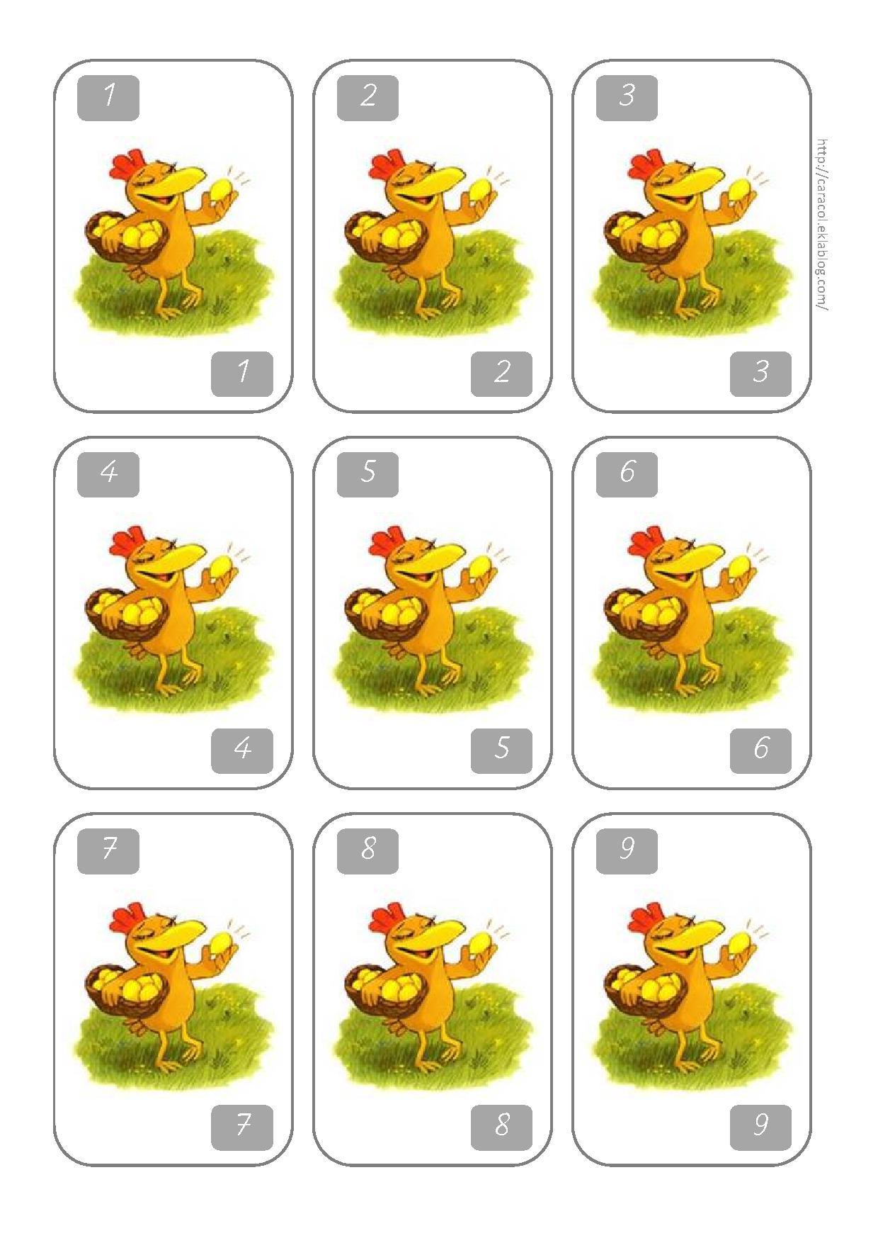 Jeu Un, Deux, Trois, Poule! Cp/ce1 | Caracolus intérieur Jeux Cp À Imprimer