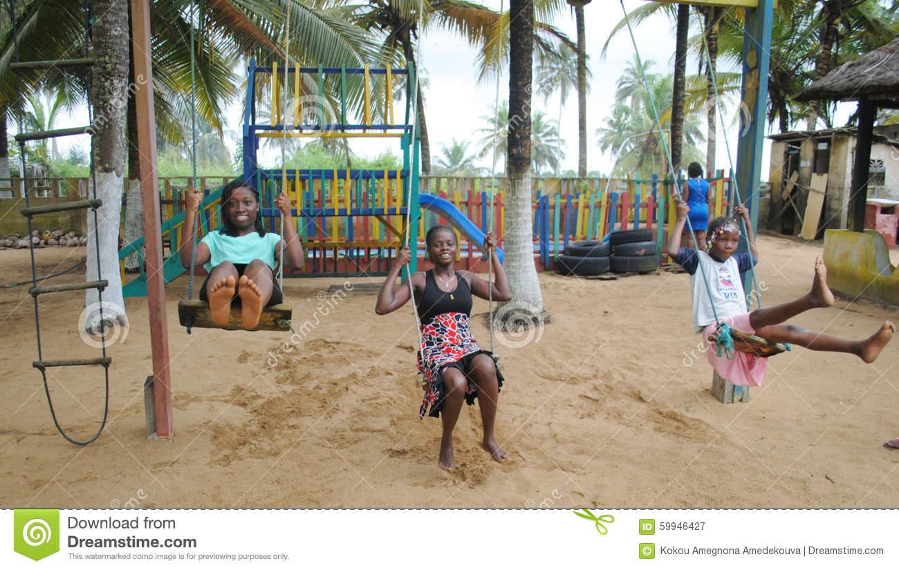 Jeux Africains D'enfants Photographie Éditorial. Image Du destiné Jeux Africains Pour Enfants