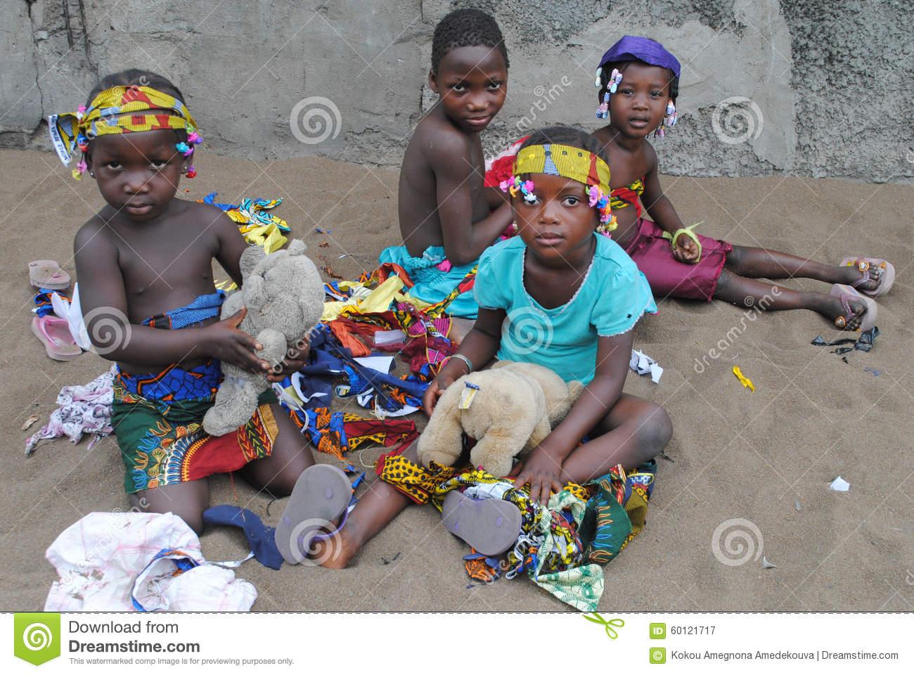 Jeux Africains D'enfants Photographie Éditorial. Image Du pour Jeux Africains Pour Enfants