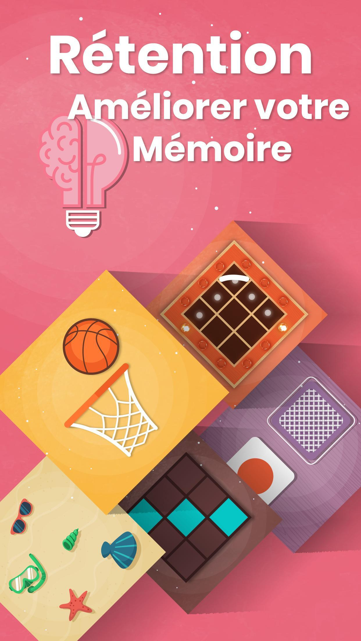 Jeux Cérébral Gratuit Pour Adultes Et Enfants Pour Android à Jeux Memoire Gratuit