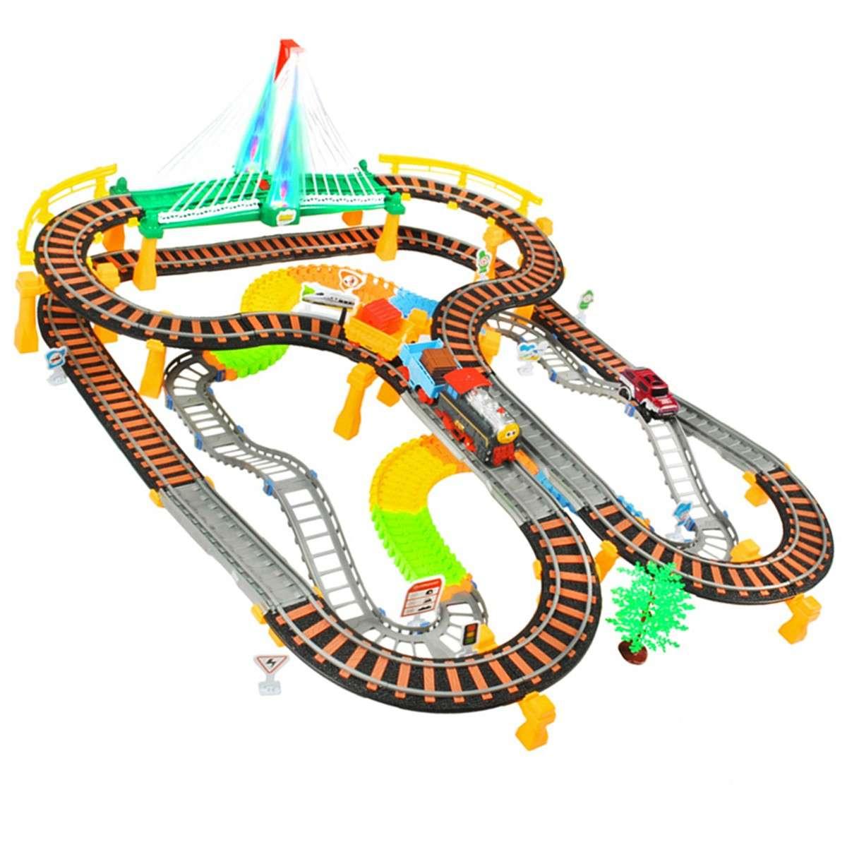 Jeux Circuit Petit Train Et Voiture À Partir De 6 Ans concernant Jeux De Petite Voiture