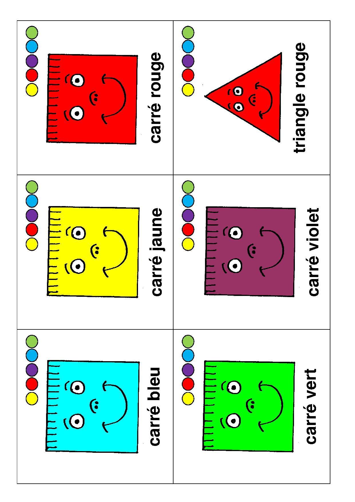 Jeux De 7 Familles - La Maternelle De Camille intérieur Jeux Didactiques Maternelle