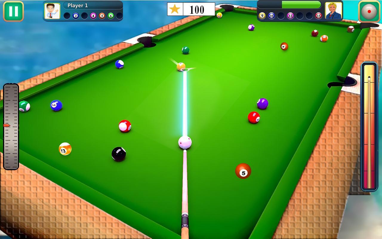 Jeux De Billard 9 Boules De Billard Pour Android à Jeux De Biyare