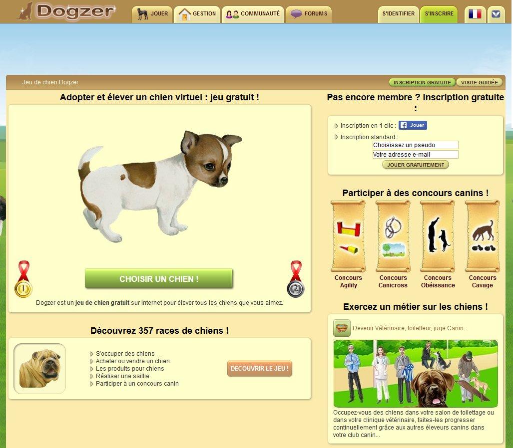 Jeux De Chien Virtuel Et De Chat À Adopter. dedans Jeux D Animaux Gratuit