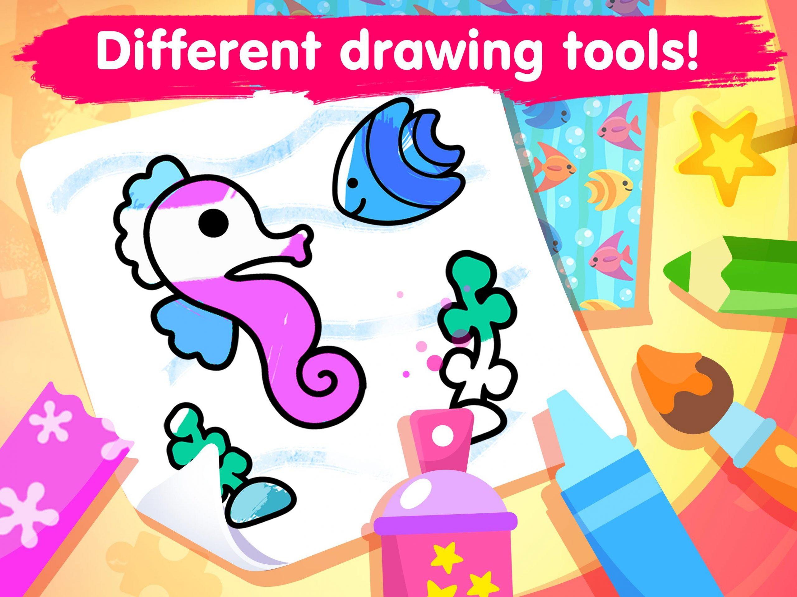 Jeux De Coloriage Pour Les Enfants 2-5 Ans Pour Android destiné Jeux Enfant 7 Ans