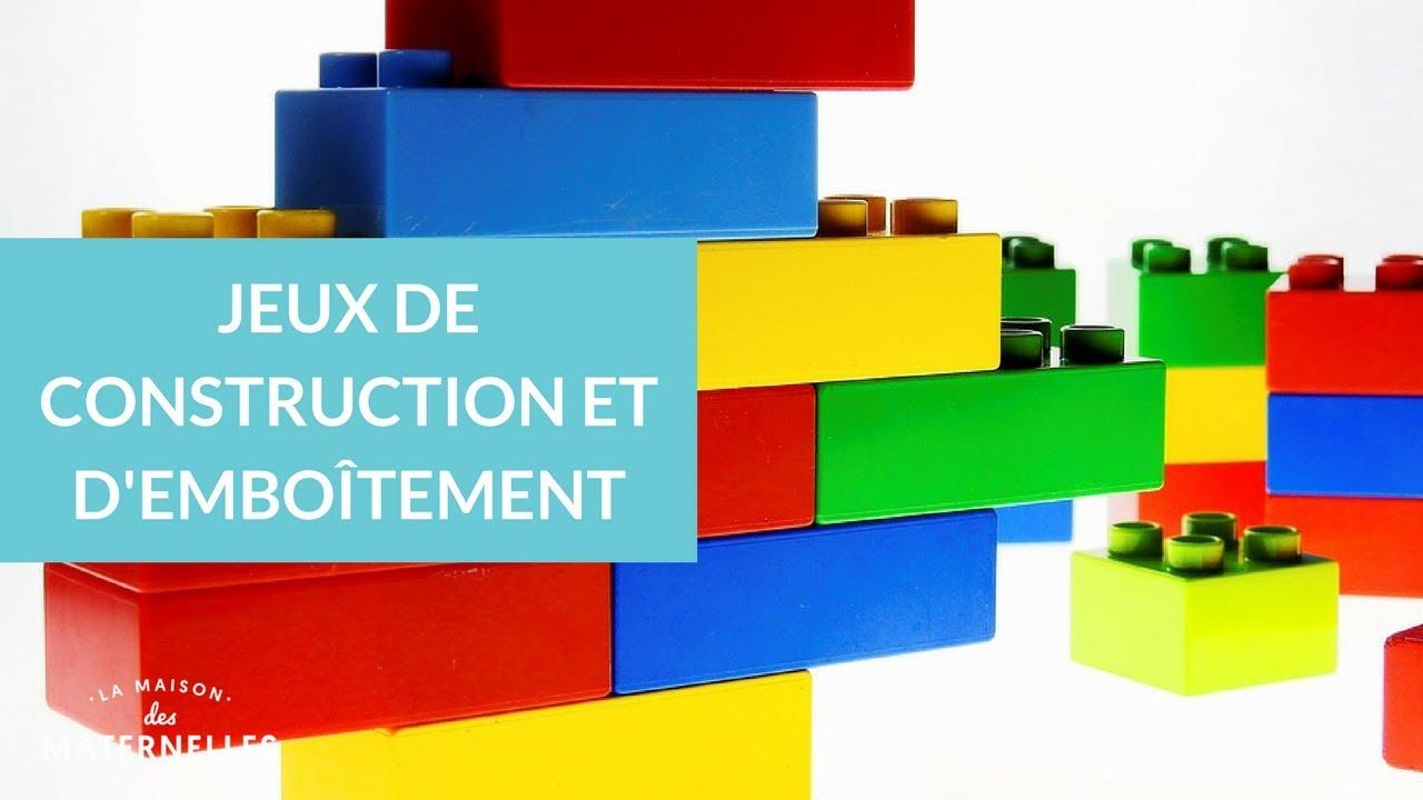 Jeux De Construction Et D'emboîtement - La Maison Des Maternelles #lmdm pour Jeux Ludique Maternelle