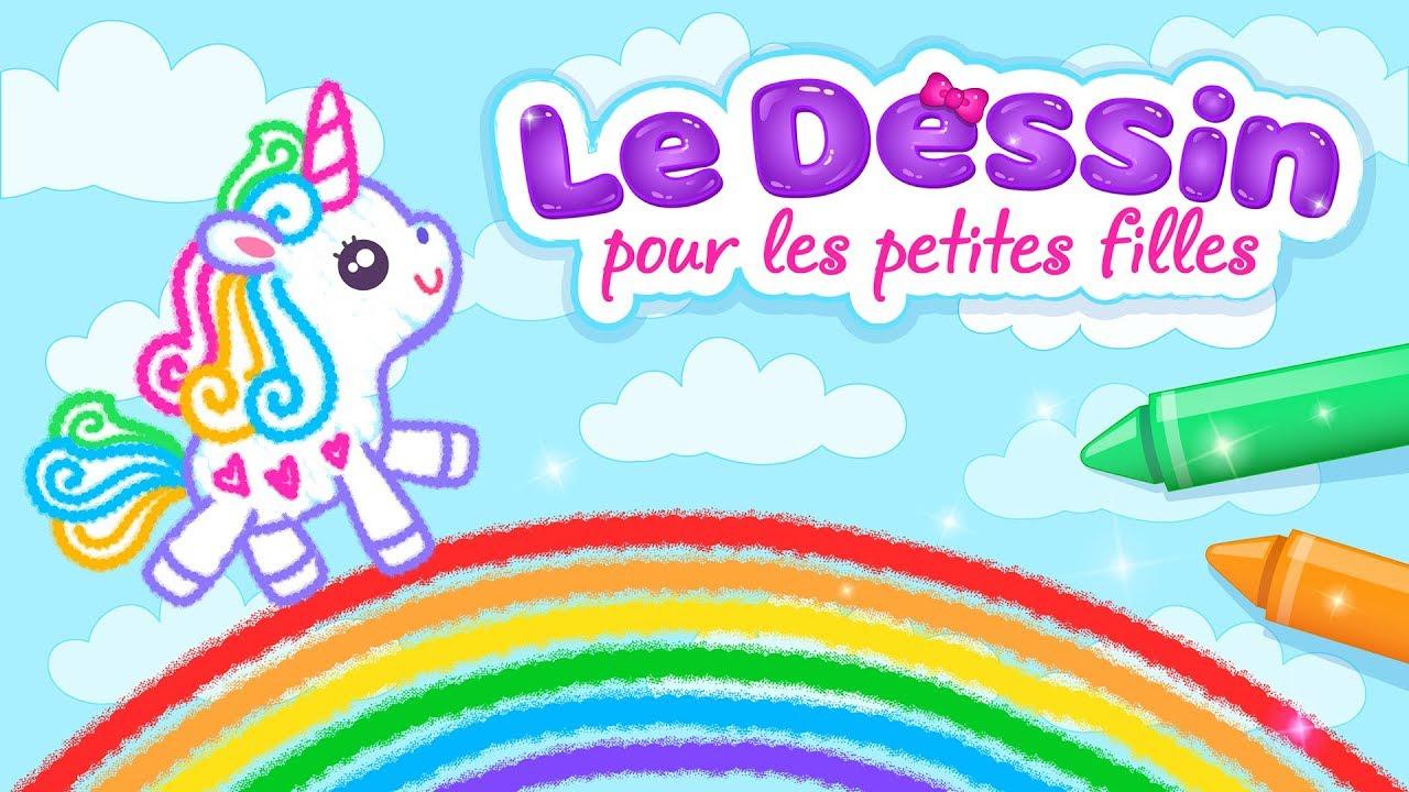 Jeux De Dessin Pour Filles!🎀 (Fr) (Old) dedans Jeux Educatif 5 Ans Gratuit