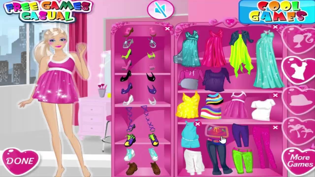 Jeux De Fille Barbie Princesse Maquillage Et Habillage tout Jeux Pour Bébé En Ligne