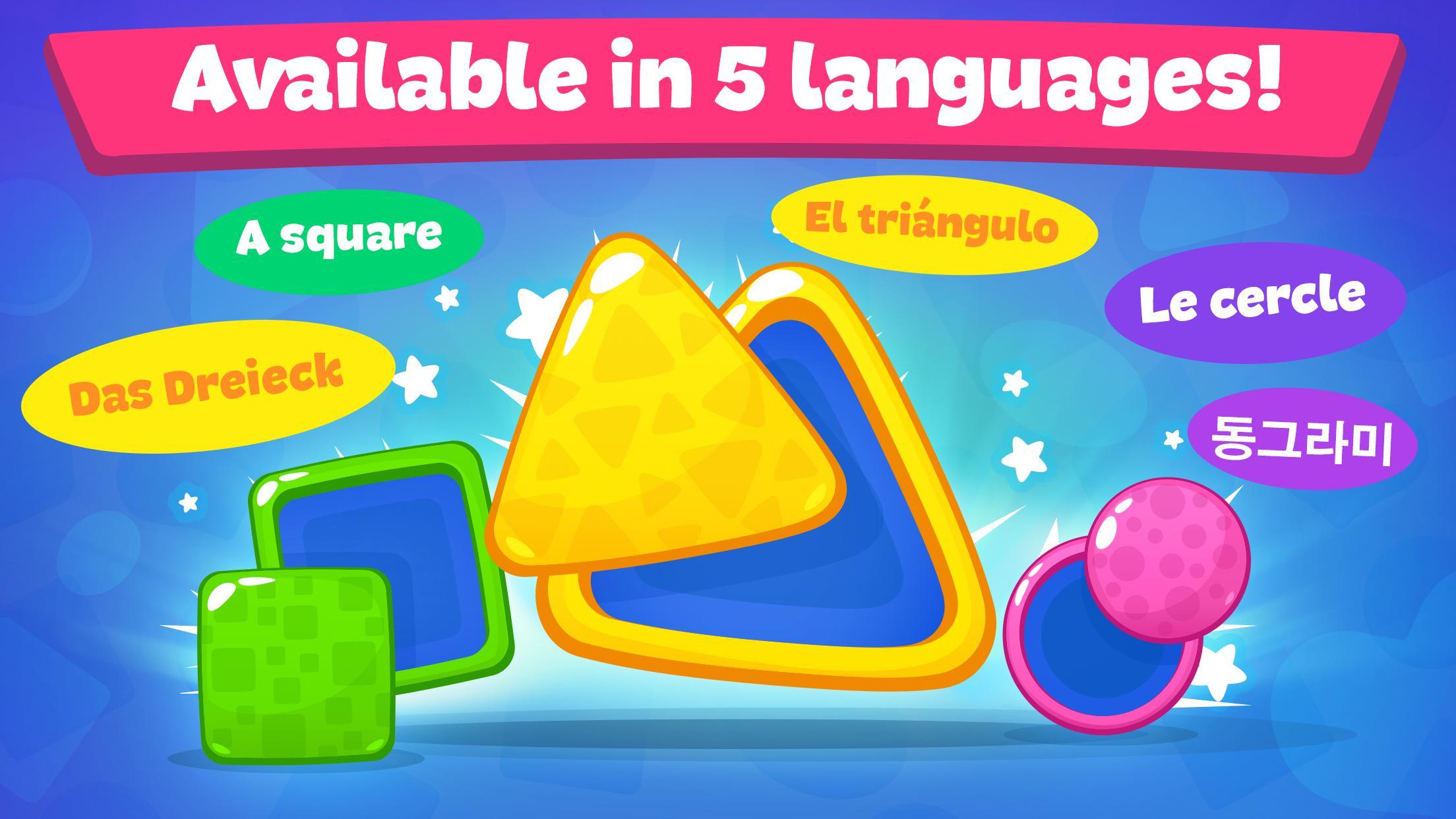 Jeux De Formes Et Couleurs Pour Enfants 2 5 Ans Pour Android encequiconcerne Jeux Pour 3 5 Ans
