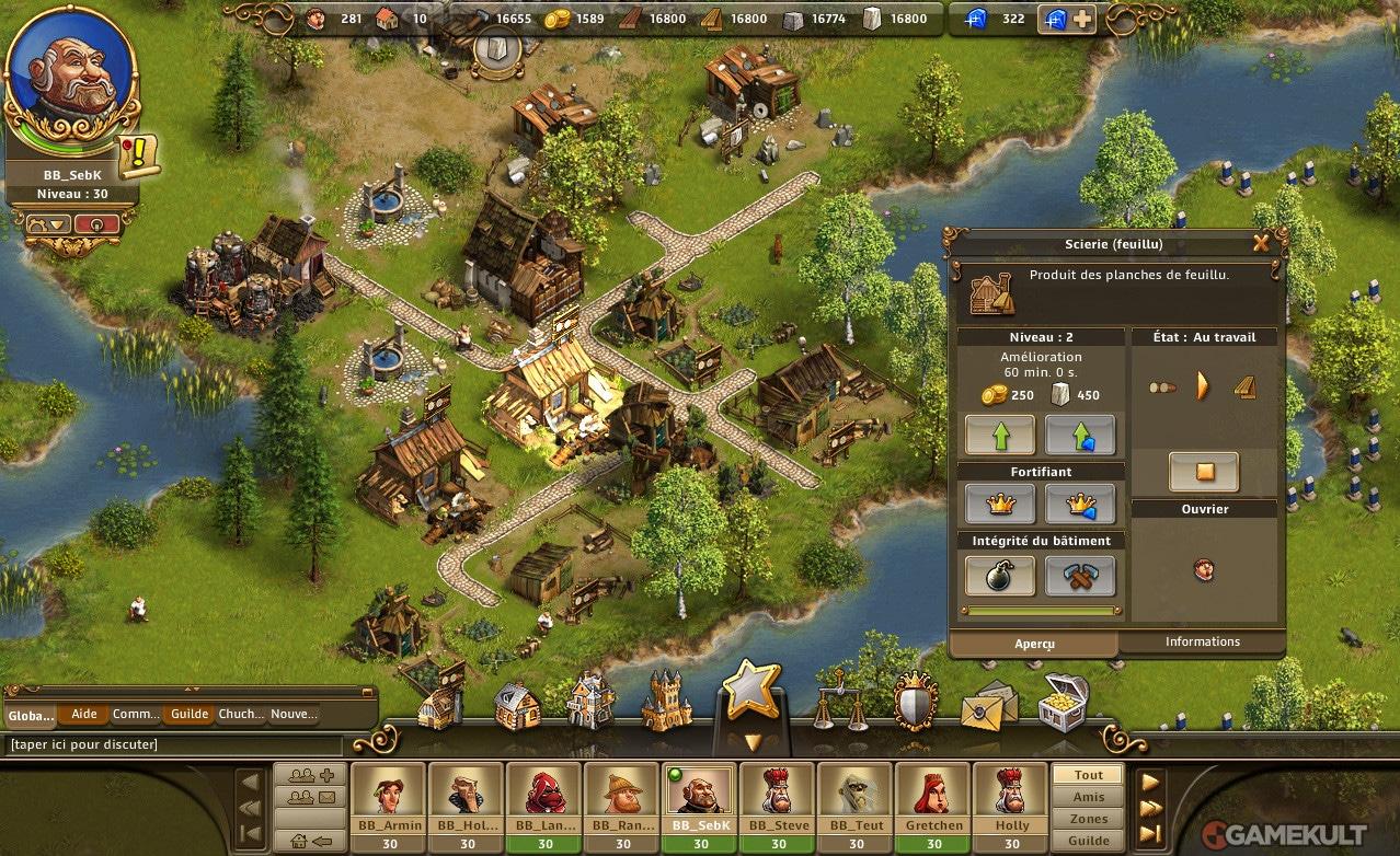 Jeux De Gestion En Ligne : Settlers, Anno, Travian, Astérix intérieur Jeux En Ligne 2 Ans
