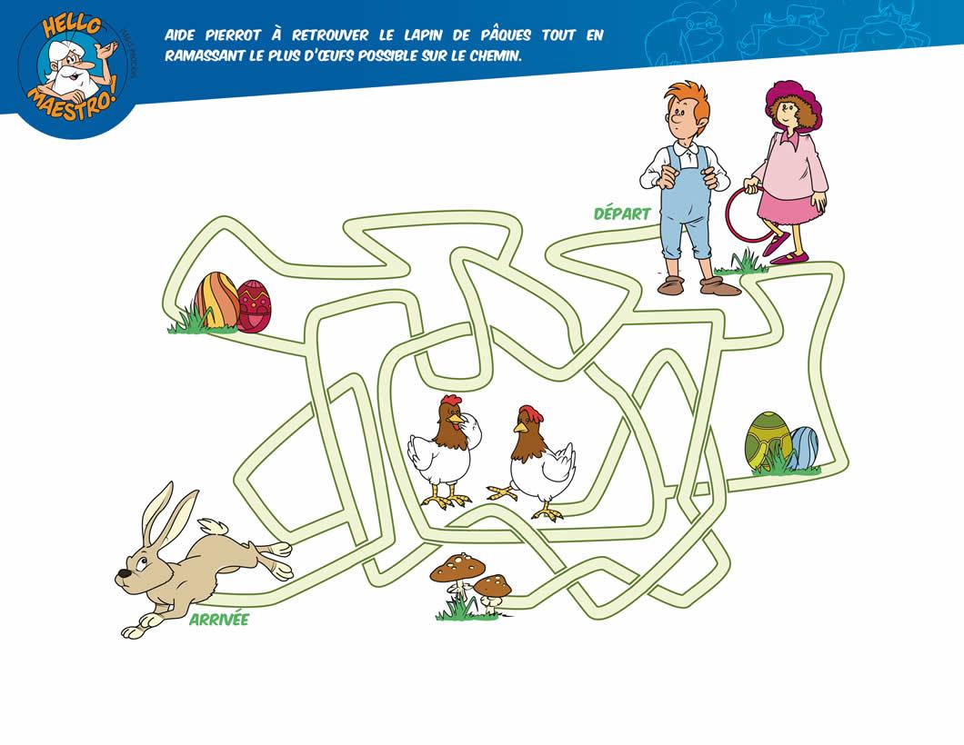 Jeux De Labyrinthes - Fr.hellokids avec Jeux De Labyrinthe Gratuit
