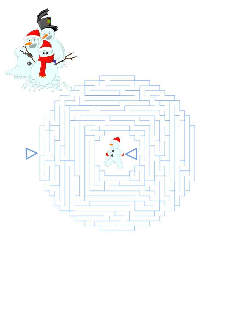 Jeux De Labyrinthes - Fr.hellokids pour Labyrinthes À Imprimer