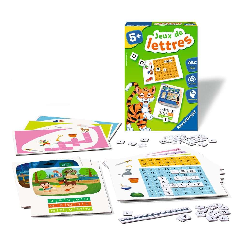 Jeux De Lettres serapportantà Jeux De Lettres Enfants