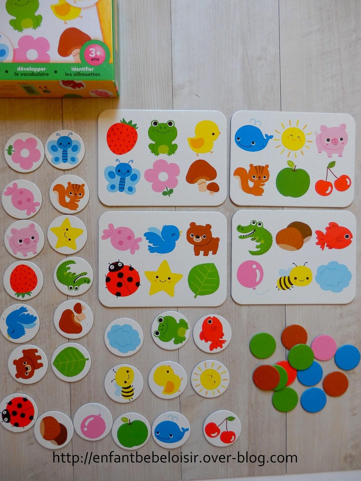 Jeux De Loto Apprentissage Des Couleurs - Nathan - Enfant intérieur Jeux Pour Apprendre Les Couleurs